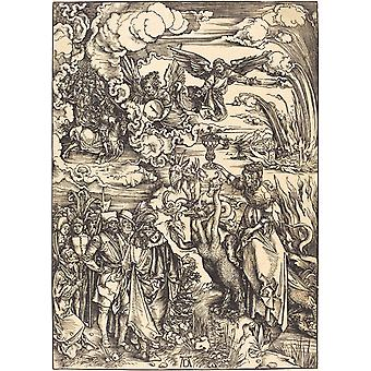 Albrecht Durer - The Babylonian Whore Poster Print Giclee