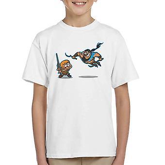 Clash Of The Titans han mand Khal Drogo spil af troner børne T-Shirt