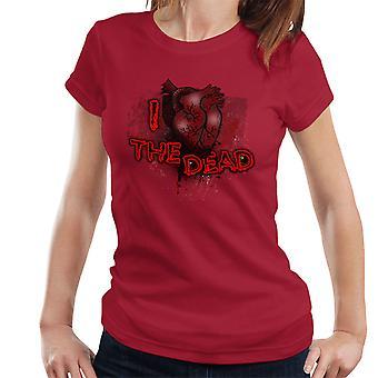 Me encanta la camiseta de las mujeres muertas