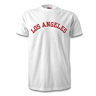 Los Angeles College Style T-Shirt