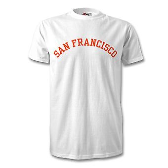 San Francisco College Style Kids T-Shirt