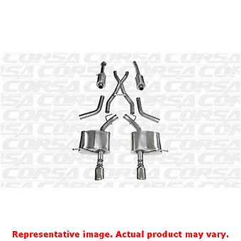 CORSA Performance Cat Back Exhaust 14459 Polished Fits:DODGE 2011 - 2013 DURANG