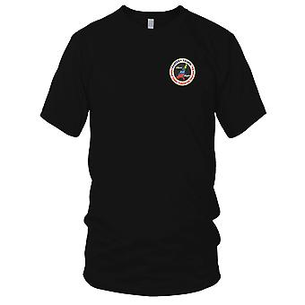 US Navy Veterans Eastern Region Embroidered Patch - Mens T Shirt