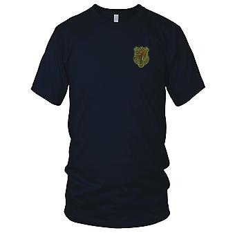 ARVN National Police Force Unit CSDC - Military Insignia Vietnam War Embroidered Patch - Mens T Shirt