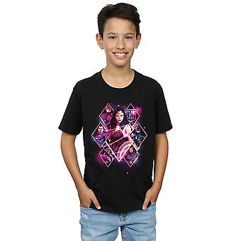 DC Comics Boys Justice League Movie Team Diamonds T-Shirt
