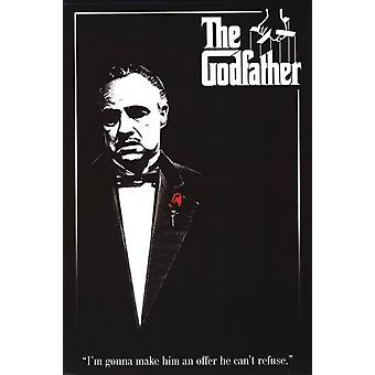 Godfather - Red Rose Poster Poster Print