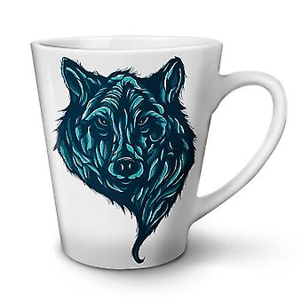 Wolf Beast Calm Animal NEW White Tea Coffee Ceramic Latte Mug 17 oz | Wellcoda