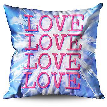 Adorabile amore cuscino in lino amabile amore | Wellcoda