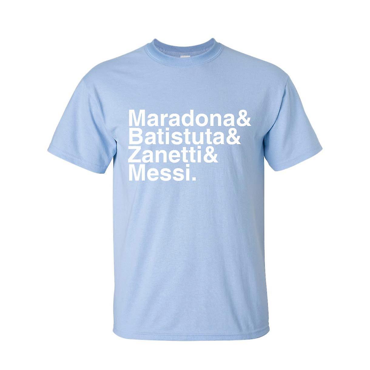 Argentine Football Legends T-shirt (bleu ciel)