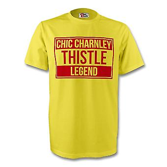 Chic Charnley Partick Thistle Legend Tee (jaune)