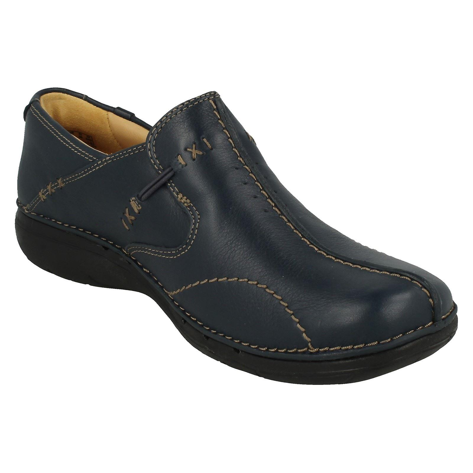 Clarks Ladies Structured Shoes