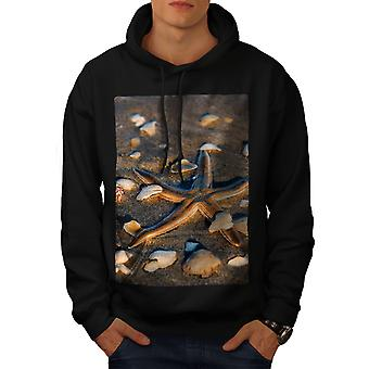 Bord de mer Photo Nature hommes BlackHoodie | Wellcoda