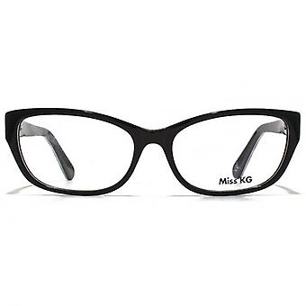 Miss KG Soft Rectangle Glasses In Black