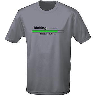 Pensando por favor esperar para hombre camiseta 10 colores (S-3XL) por swagwear