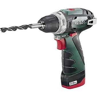 Taladro Metabo PowerMaxx BS inalámbrico 10,8 V 2 Ah Li-ion incl. recargables