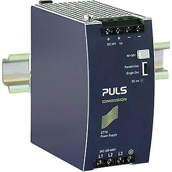 Rail mounted PSU (DIN) PULS DIMENSION CT10.481 48 Vdc 5 A 240 W 1 x
