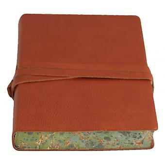 Coles Pen Company Chianti Large Marbled Journal - Brown