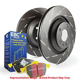 EBC Brake Kit - S9 Yellowstuff and USR Rotors S9KR1441 Fits:SAAB  2005 - 2005 9