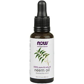 Now Foods Neem Oil 30 ml (cosmetici, trattamento viso, oli)