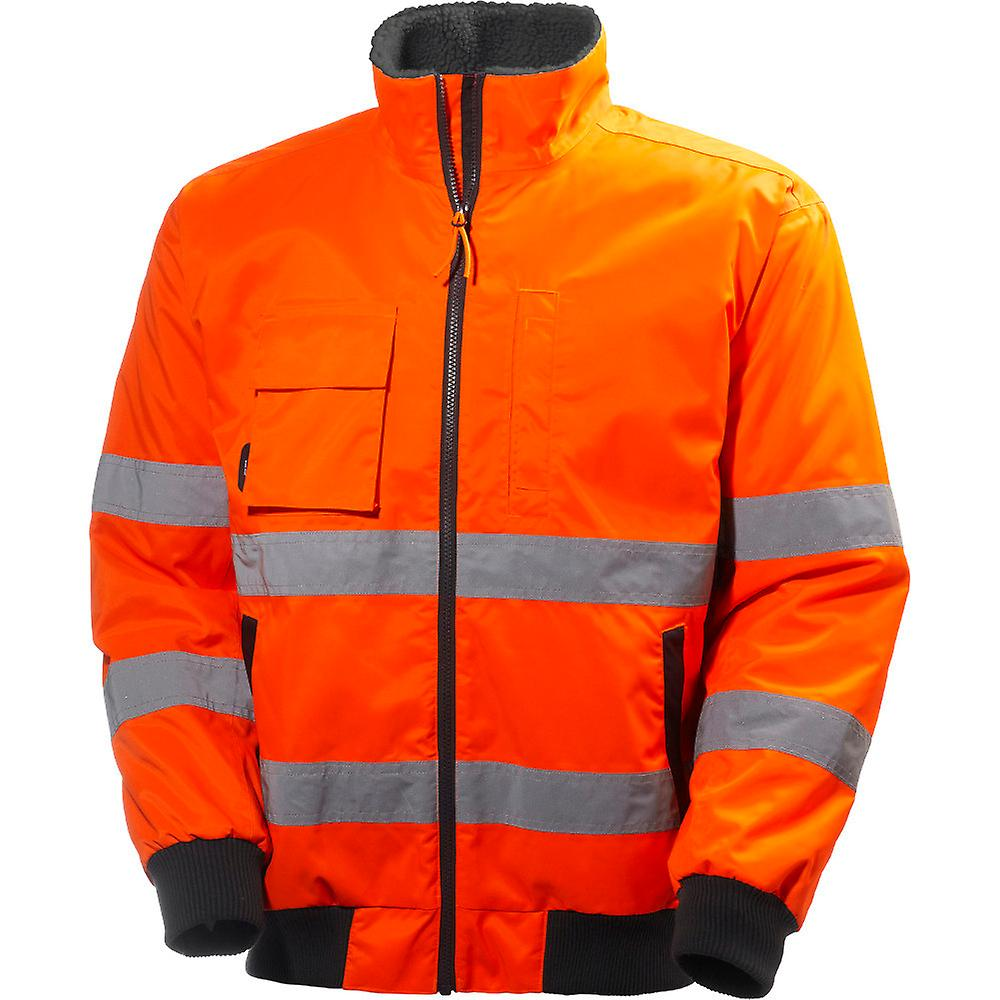Helly Hansen Mens Alta Waterproof Breathable High-Vis Workwear Jacket