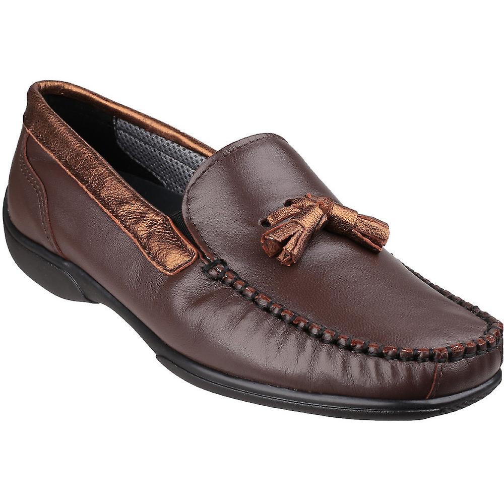 Cotswold Womens/Ladies Slip Biddlestone Leather Slip Womens/Ladies On Casual Shoes ec20ca