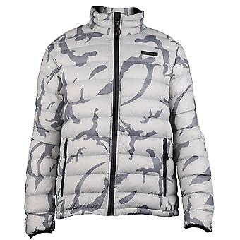 Caterpillar Mens Brooklyn Quilted Padded Down Jacket Coat