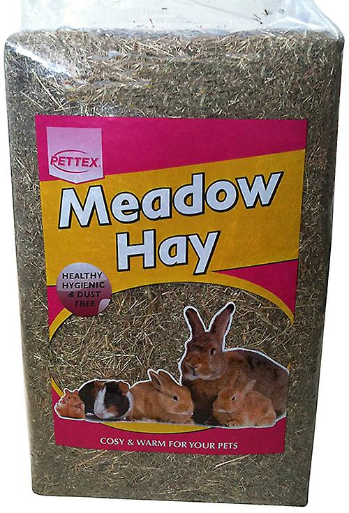 Pettex Compressed Rabbit Small animal Bale Meadow Hay