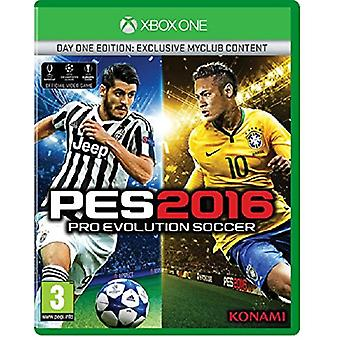 Pro Evolution Soccer 2016 Day One Edition Xbox One Game - Factory Sealed
