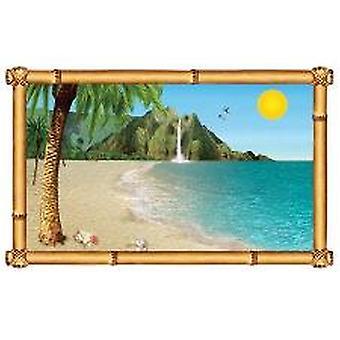 Prop Insta вид окна тропический пляж