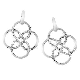 Orphelia Silver 925 Earring Flower Zirc  ZO-6085