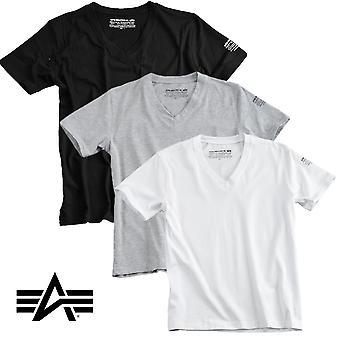 Alpha industries shirt Bodywear V neck