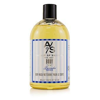 Kunsten at barbering Body Wash - lavendel æterisk olie - 480ml/16,2 oz