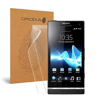 Celicious Matte Anti-Glare Screen Protector Film Compatible with Sony Xperia S [Pack of 2]