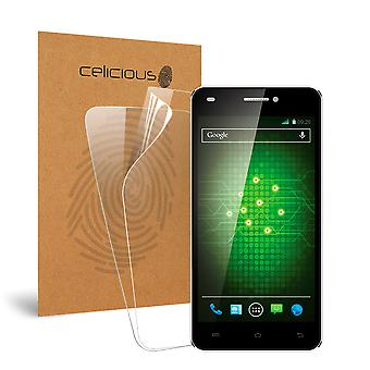 Celicious Vivid Invisible Screen Protector for XOLO Q1200 [Pack of 2]