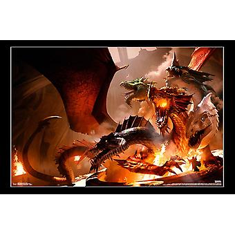 Dungeons and Dragons - Tiamat Poster Print