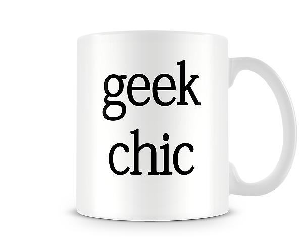 Geek Chic Printed Mug