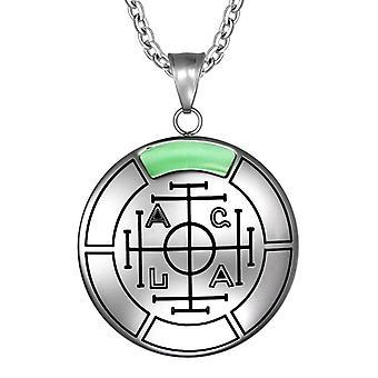 Formue rikdom og suksess magiske medaljong Amulet anheng halskjede