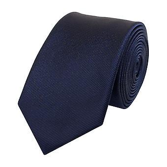 Tie tie tie tie narrow 6cm dark blue striped Fabio Farini