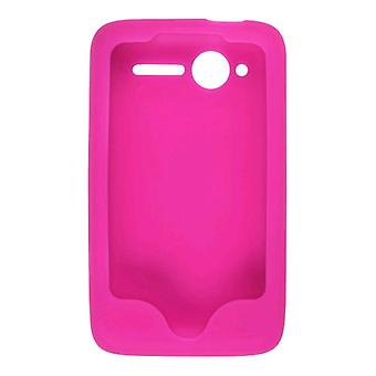 Silicone Gel Skin Case for HTC Wildfire (CDMA) Watermelon