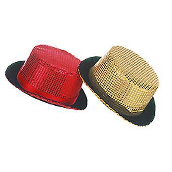 Paljett top hat på nyårsafton tillbehör Halloween Carnival