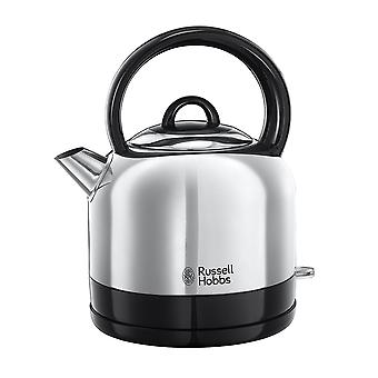 Russell Hobbs 23900 Traditional Stainless Steel 3000W 1.5L Dome Electric Kettle