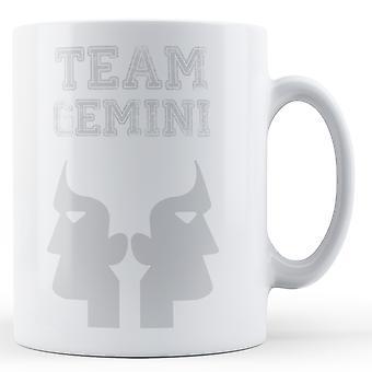 Team Gemini - Printed Mug