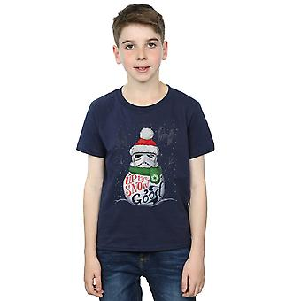 Star Wars Boys Stormtrooper Up To Snow Good T-Shirt