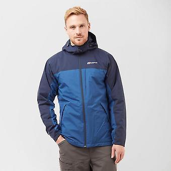 New Berghaus Men's Stormcloud Insulated Full Zip Jacket Navy