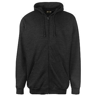 Russel Mens Full Zipped Hoody OTH Hoodie Hooded Top Zip Print Jersey Drawstring