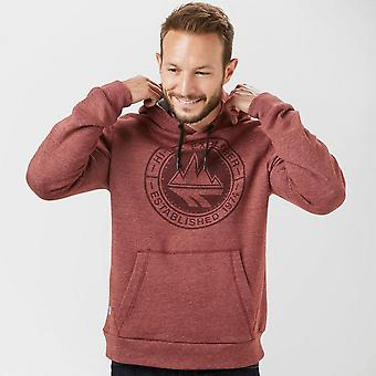 Hi-Tec Men's Ansell Unbeatable Warmth Long Sleeve Hoodie Red/Blue