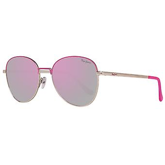 Pepe jeans for stylish women sunglasses gold