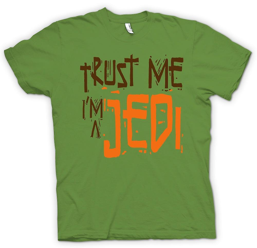 Mens T-shirt - geloof Me Ik ben een Jedi - grappig