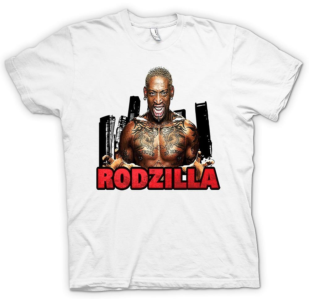 Herr T-shirt - Rodzilla - Rodman tatuering