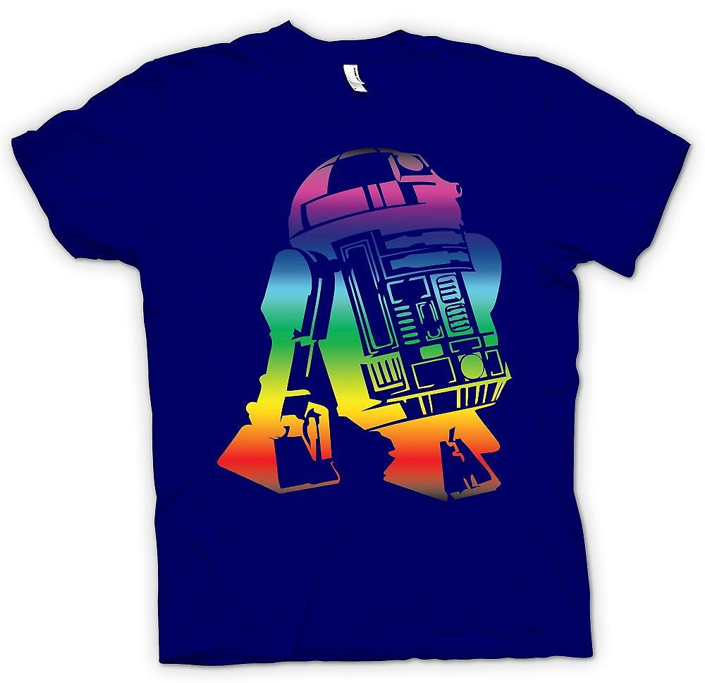 Mens T-shirt - R2D2 Star Wars Inspired Design